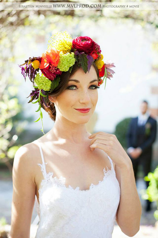 Nelly Magny : maquilleuse de mariage au Pays Basque.